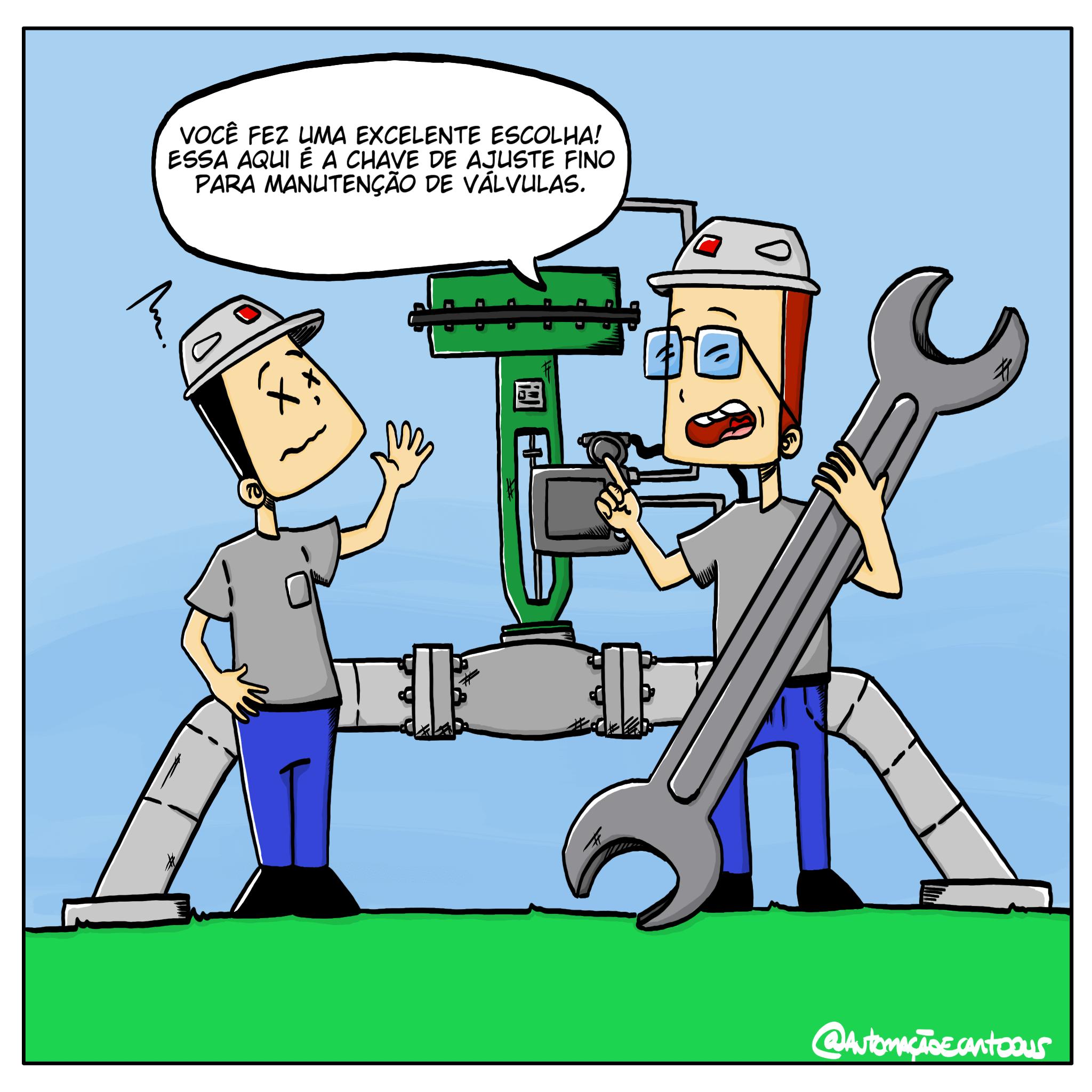 manutencao-em-valvula-de-controle
