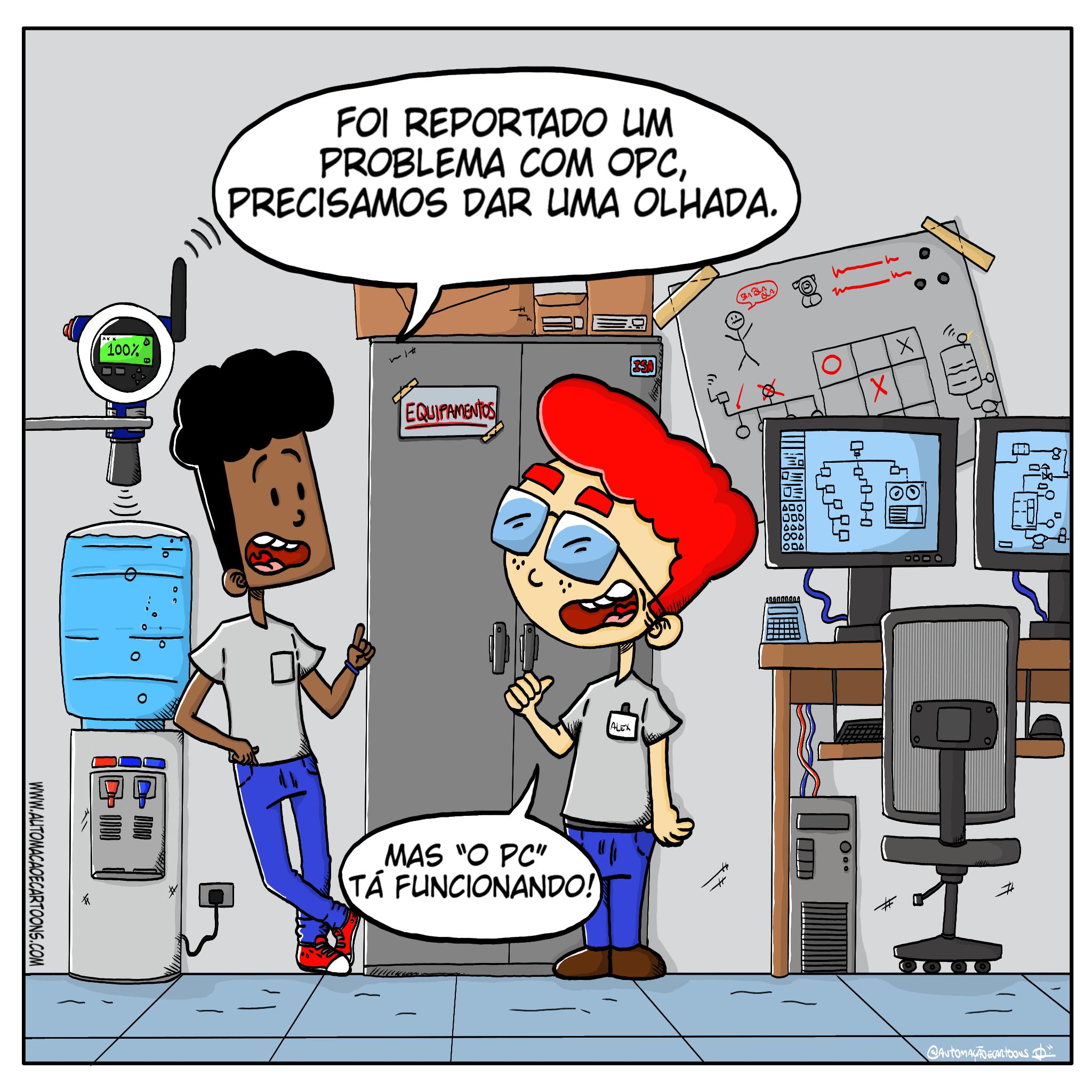 Falando sobre a comunicação OPC e OPC UA - Automacao & Cartoons